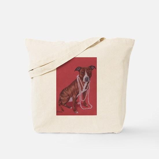Pretty Pittie Tote Bag