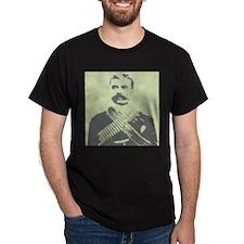 Zapata Portrait Black T-Shirt