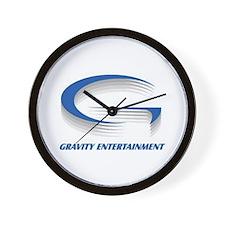 """G"" Entertainment Wall Clock"
