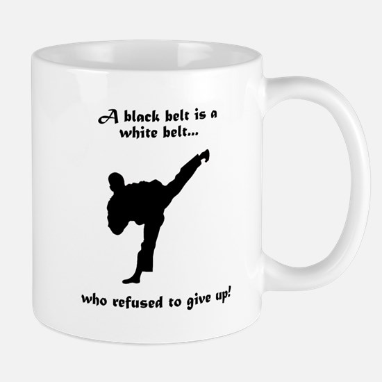 Black Belt Refusal Mug