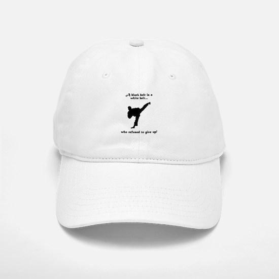 Black Belt Refusal Cap