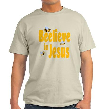 Beelieve in Jesus Light T-Shirt