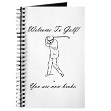 Golf Broke! Journal