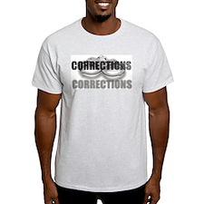 CORRECTIONS Ash Grey T-Shirt