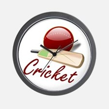 Cricket! Wall Clock