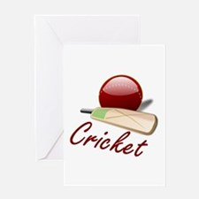 Cricket! Greeting Card