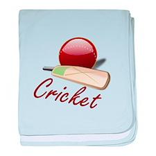 Cricket! baby blanket