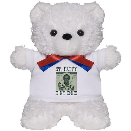 St. Patty is my Homie Teddy Bear