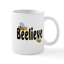 Beelieve in Black Mug