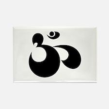 OM Symbol Rectangle Magnet (100 pack)