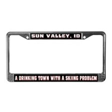 Sun Valley License Plate Frame