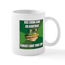 Soda Can Ashtray Mug