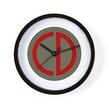 Custer Wall Clock