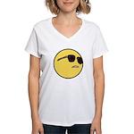 Dat Ass Smiley Women's V-Neck T-Shirt