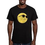 Dat Ass Smiley Men's Fitted T-Shirt (dark)