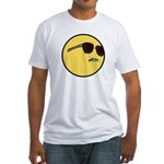 Dat Ass Smiley Fitted T-Shirt