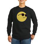 Dat Ass Smiley Long Sleeve Dark T-Shirt