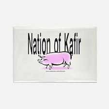 Nation of Kafir w/Pig Rectangle Magnet