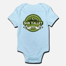 Sun Valley Green Infant Bodysuit