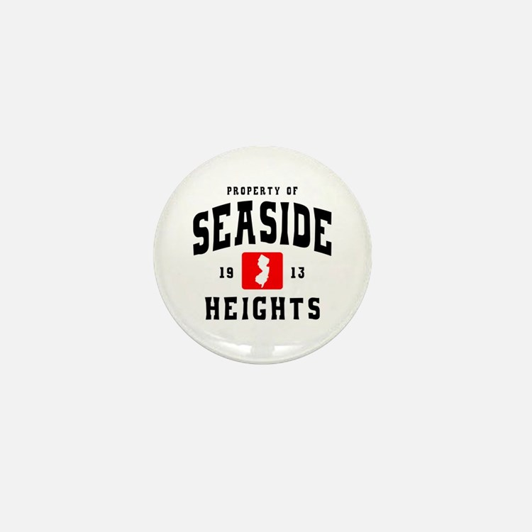 Seaside Heights 1913 Mini Button