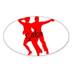 Dancer Sticker (Oval)