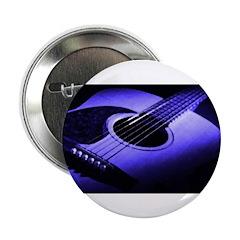 Blue Guitar Button
