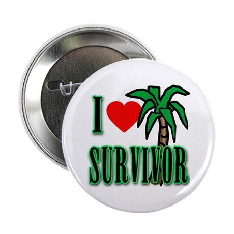 "I Heart Survivor 2.25"" Button"