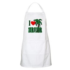 I Heart Survivor Apron