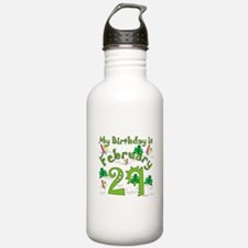 Leap Year Birthday Feb. 29th Water Bottle