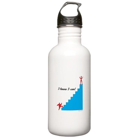 I Know I Can Weight Loss Stainless Water Bottle 1.