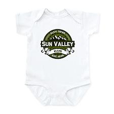 Sun Valley Olive Infant Bodysuit
