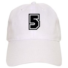 Varsity Uniform Number 5 Baseball Cap