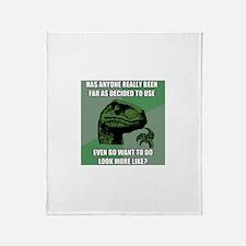 Nonsense Throw Blanket