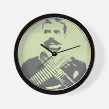 Zapata Portrait Wall Clock