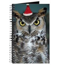 Christmas Owl Journal