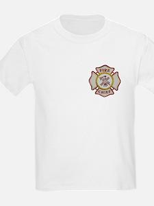 Fire Chief Maltese T-Shirt