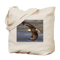 Round House Eagle Tote Bag