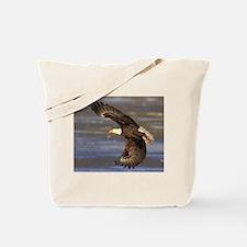 Round House Eagle Tote Bag