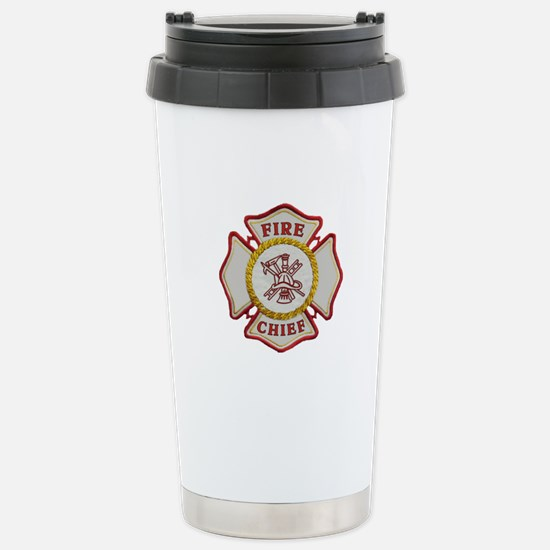Fire Chief Maltese Stainless Steel Travel Mug