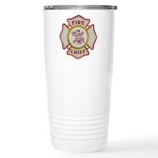 Fire Chief Maltese Travel Mug