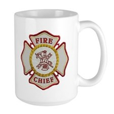 Fire Chief Maltese Ceramic Mugs