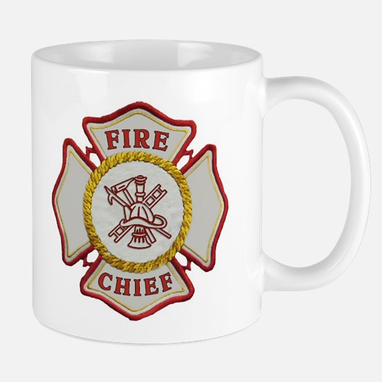 Fire Chief Maltese Mug