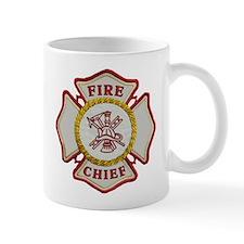 Fire Chief Maltese Small Mugs