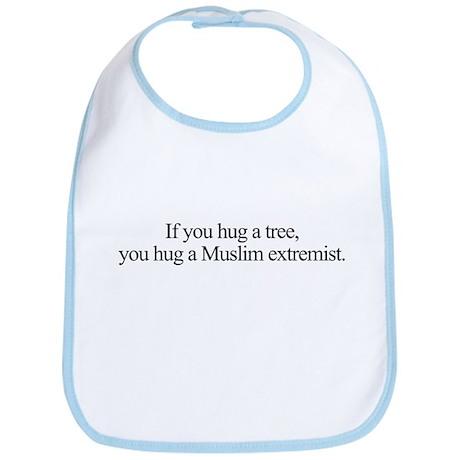 Hug A Tree Bib