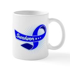 Colon Cancer Survivor Star Mug