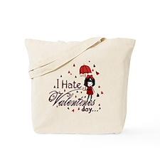 I Hate Valentine's Tote Bag
