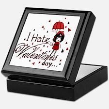 I Hate Valentine's Keepsake Box