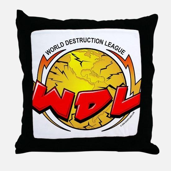 CoV WDL World Destruction Lea Throw Pillow