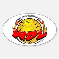 CoV WDL World Destruction Lea Oval Decal