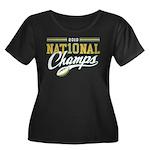 2010 Nat10nal Champs Women's Plus Size Scoop Neck
